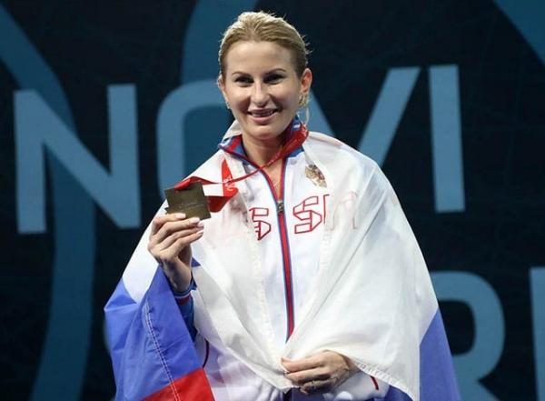 Инна Дериглазова стала чемпионкой Европы