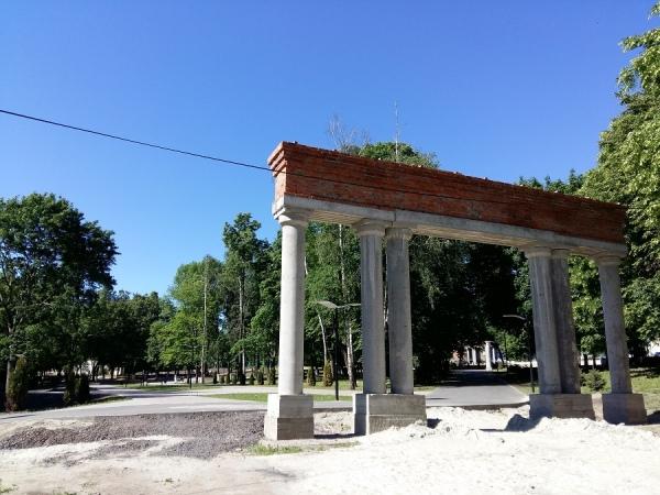 Ремонт теплосети тормозит реконструкцию парка Дзержинского