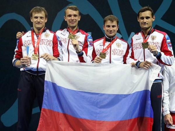 Русские рапиристы победили начемпионате Европы вСербии