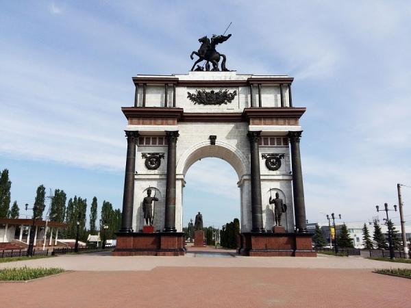 В центре Курска появился стенд для туристов