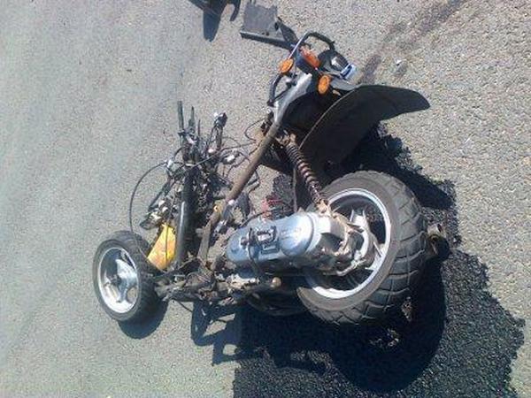 В Фатежском районе в ДТП погиб мотоциклист