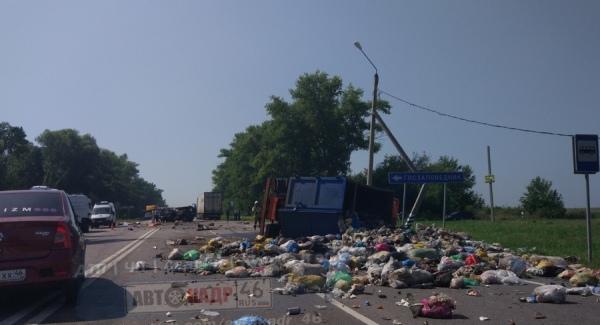 Сегодня утром в ДТП под Курском погибли два человека