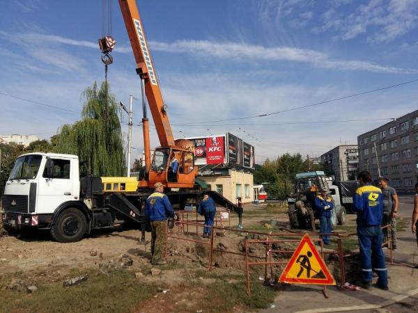 Десятки домов в центре Курска остались без горячей воды