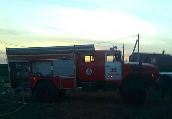 В Октябрьском районе в пожаре погиб мужчина