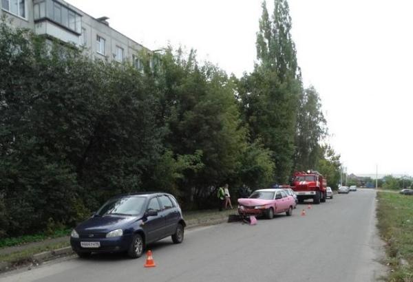 В Сеймском округе дорогу не поделили две автомобилистки