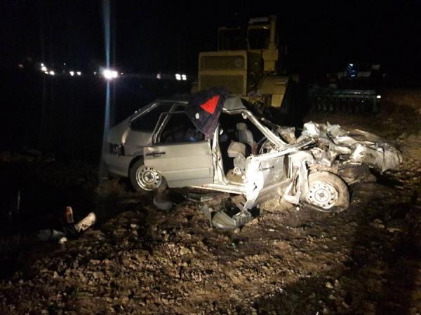Сегодня вечером в ДТП под Курском погибли три человека