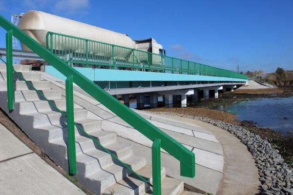 В Дмитриевском районе капитально отремонтировали мост