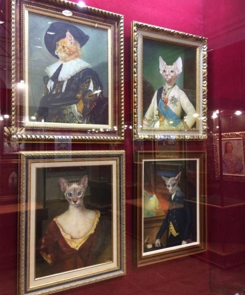 В курском музее открылась выставка работ Никаса Сафронова