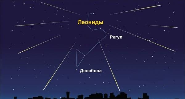 Куряне увидят звездопад Леониды