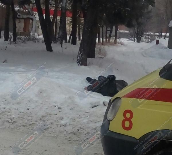 На Волокно нашли замёрзший труп мужчины