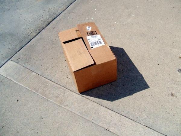 В Курске сегодня из-за пустой коробки перекрывали дорогу