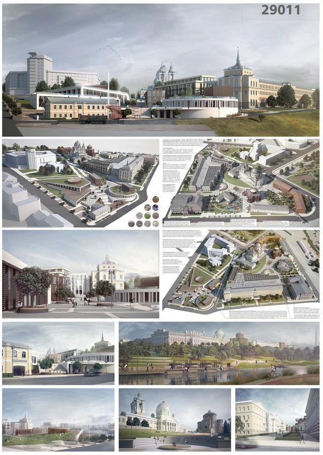 10 проектов продолжат борьбу в архитектурном конкурсе «Курск 2032»