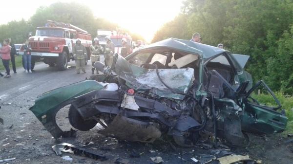 Курская область. На выходных в авариях погибли семь человек