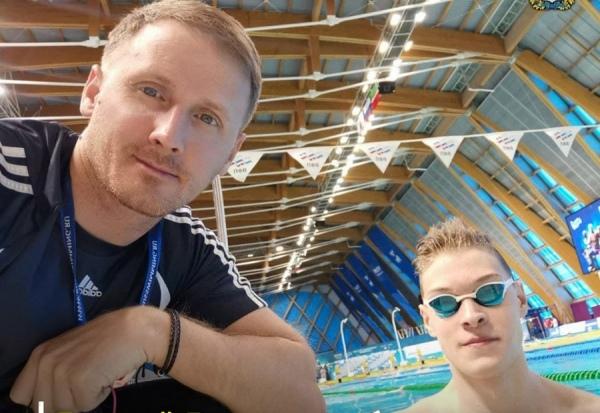 Курский пловец вошел в состав сборной России на первенство Европы