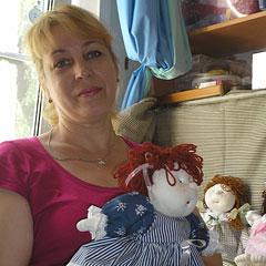 В каждой кукле –  частичка души ее создательницы