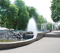 городской сад, город Орёл