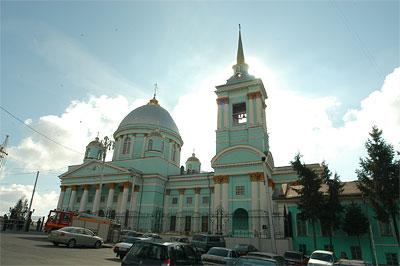 Настоящее украшение города — Знаменский собор