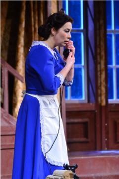 Галина Халицкая не только играет в спектаклях, но и отвечает за хореографию