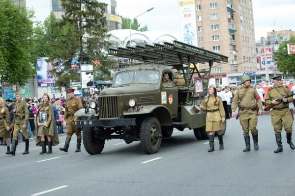 Сказать, что жители и гости Курска были в восторге от ожившей легенды, – ничего не сказать. Каждый хотел сфотографироваться с «Катюшей»