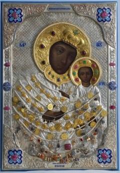 «Пряжевская» икона Божией Матери