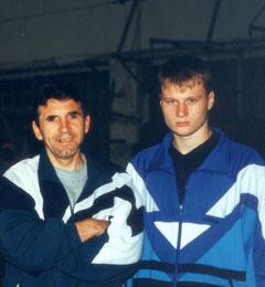 Первые тренеры Александра Поветкина и Владимира Кличко о своих воспитанниках, и о бое между ними.
