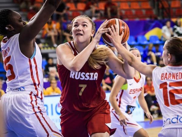 Русские баскетболистки впервый раз обыграли США вфинале молодежногоЧМ