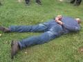 В Курской области пьяный водитель застрелил офицера полиции, подозреваемый задержан