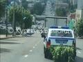 По центру Курска ездила полицейская машина, набитая коноплей