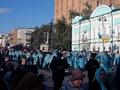 В Курске проходит крестный ход с чудотворной иконой «Знамение»