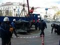 В Курске демонтировали и увезли в Орел популярную скульптуру «Современный Предприниматель»