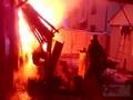 В Курске от мусора едва не загорелся дом