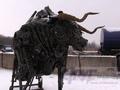 В Курске установят металлического быка и хотят привезти Аленку из Воронежа