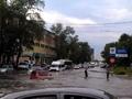 Затопленный после ливня Курск превратился в Венецию