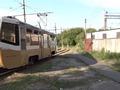 В Курске полицейские помогли тушить горящий трамвай